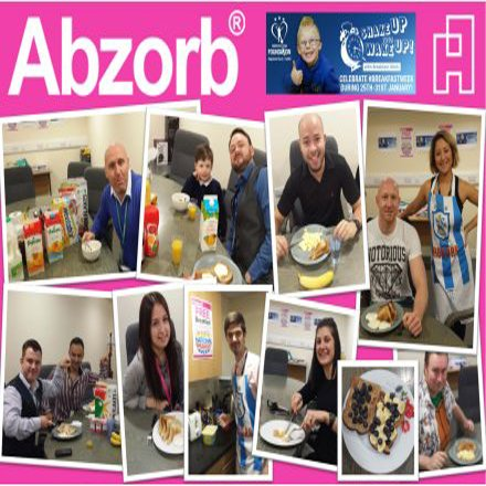 Abzorb supports Breakfast Week