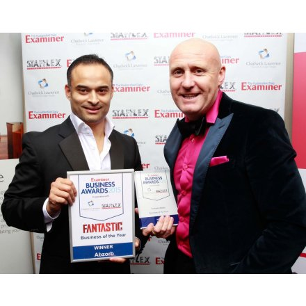 Abzorb wins Examiner 2015 Business of the Year Award