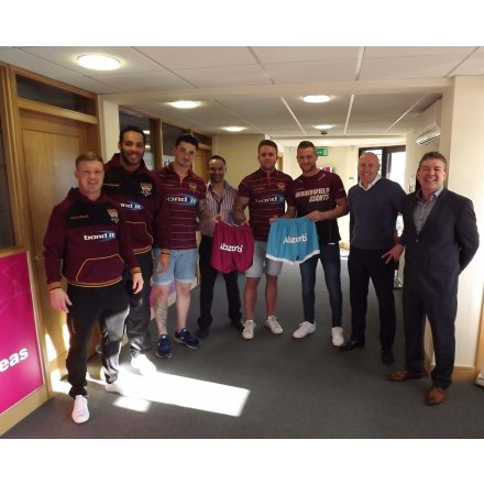 Huddersfield Giants Partner with Abzorb for the 2016 campaign